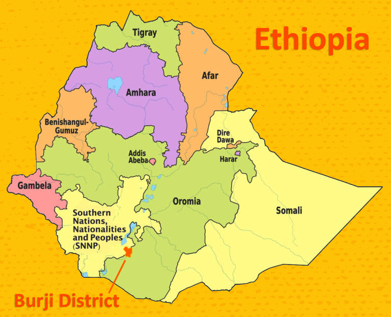 Burji District in Ethiopia
